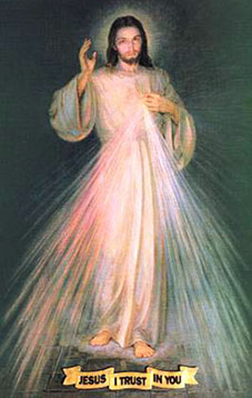 Divine Mercy, Jesus I trust in you